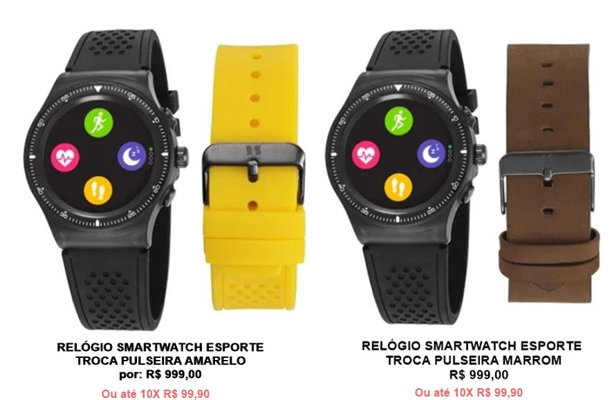 relogio seculus smart esporte smartwhatch comprar - Smartwatch: controle seu treino com os relógios inteligentes