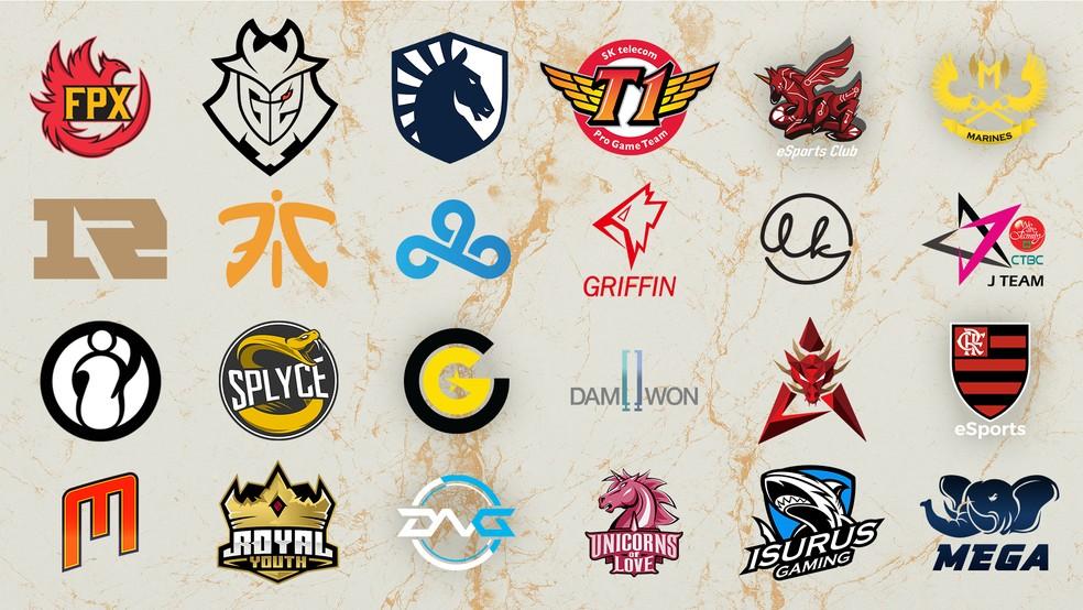 equipes LoL mundial 2019 - Mundial de League of Legends 2019: tudo o que precisa saber