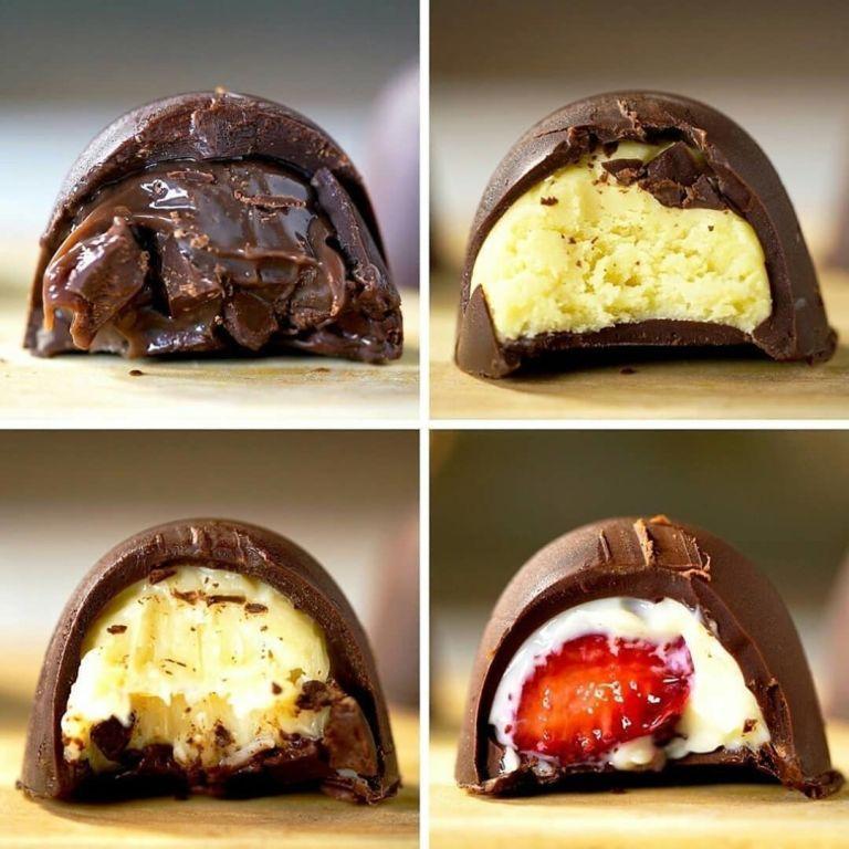 docesparapascoatrufasrecheadas - Além do ovo de chocolate: dicas de doces para páscoa para surpreender e encantar