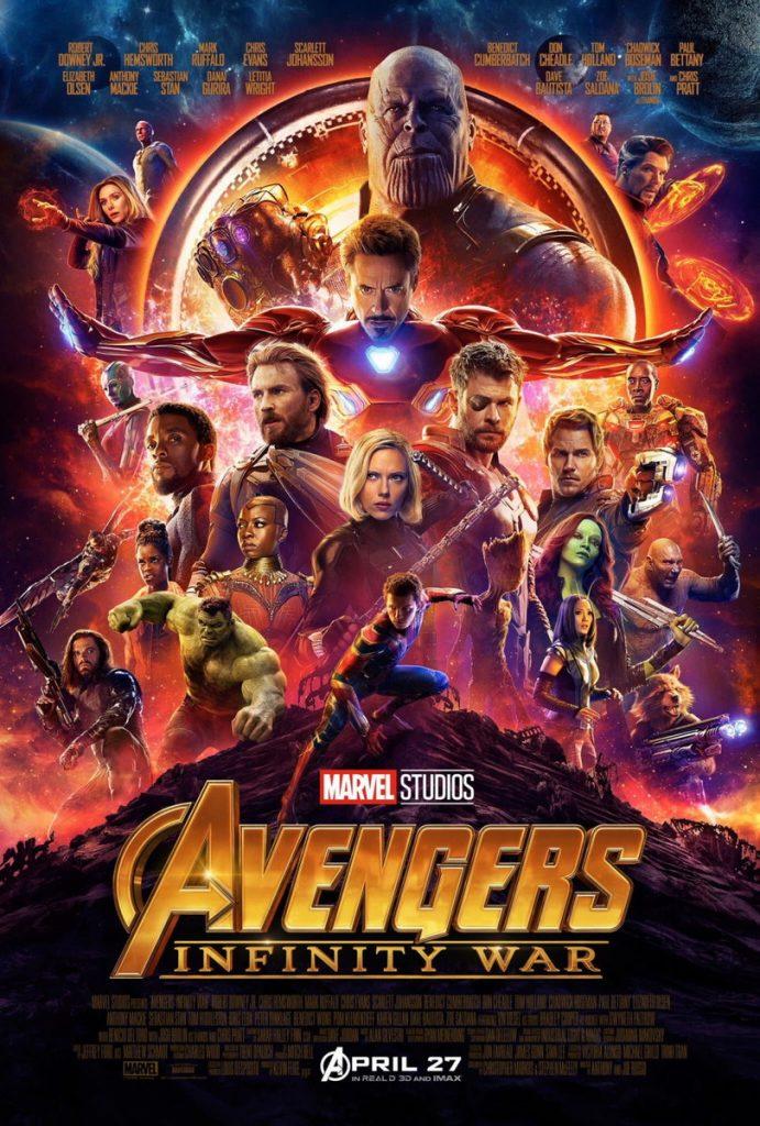 big poster avengers infinity war tamanho 90x 0 cm lo001 avengers 691x1024 - Dia do Orgulho Nerd: o que é e dicas para comemorar