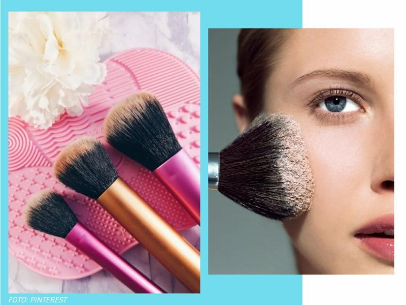 comolimparpinceisdemaquiagem3 2 - Como limpar pincéis de maquiagem? Te contamos!