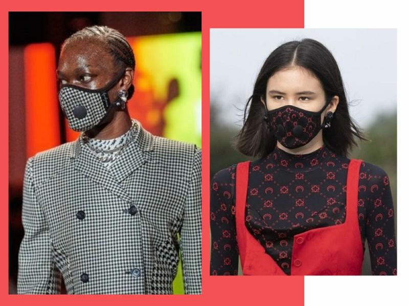 mascaradetecido4 - Quarentena: como as máscaras se inseriram na moda feminina?