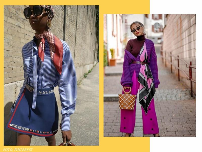 comousarlencos2 - Trend alert: como usar lenços e atualizar o look sem esforço
